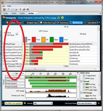 インテルのベクトル化ツールキット: 2. インテル® VTune™ Amplifier XE を使用して hotspot を特定する