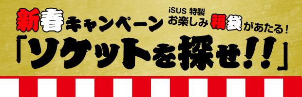 新春キャンペーン 「ソケットを探せ!!」