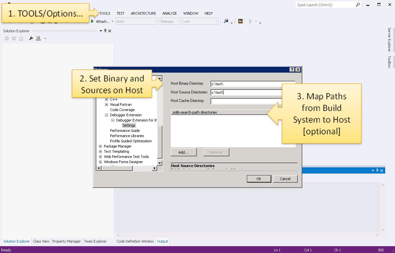 Debugging Native Coprocessor Applications - Configuration