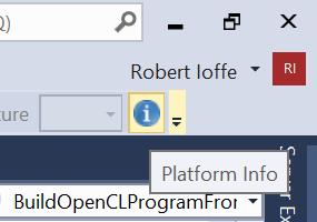 OpenCL* Code Builder で SPIR* を使用する