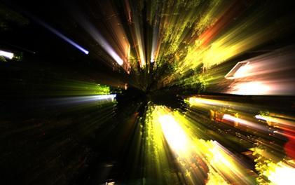 OpenCL* によるゴッドレイの HDR レンダリング