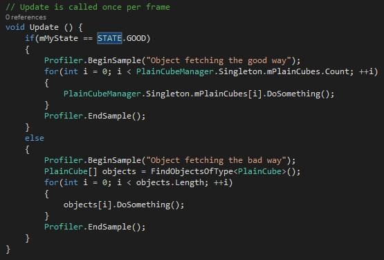 Unity* Profiler で使用するコードセグメントの設定