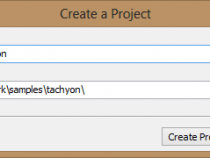 プロジェクトの設定