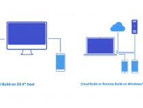 マルチ OS エンジン・テクノロジー・プレビュー Update 1 – 新しいクラウド・ビルド・サービス