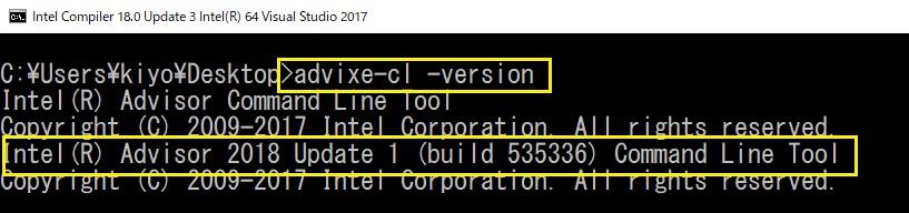 CLI でバージョンを確認