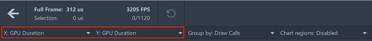 GPU 情報の表示