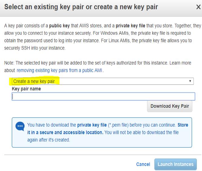 create a private key file screenshot