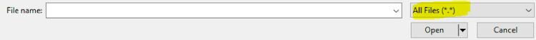 select All Files screenshot