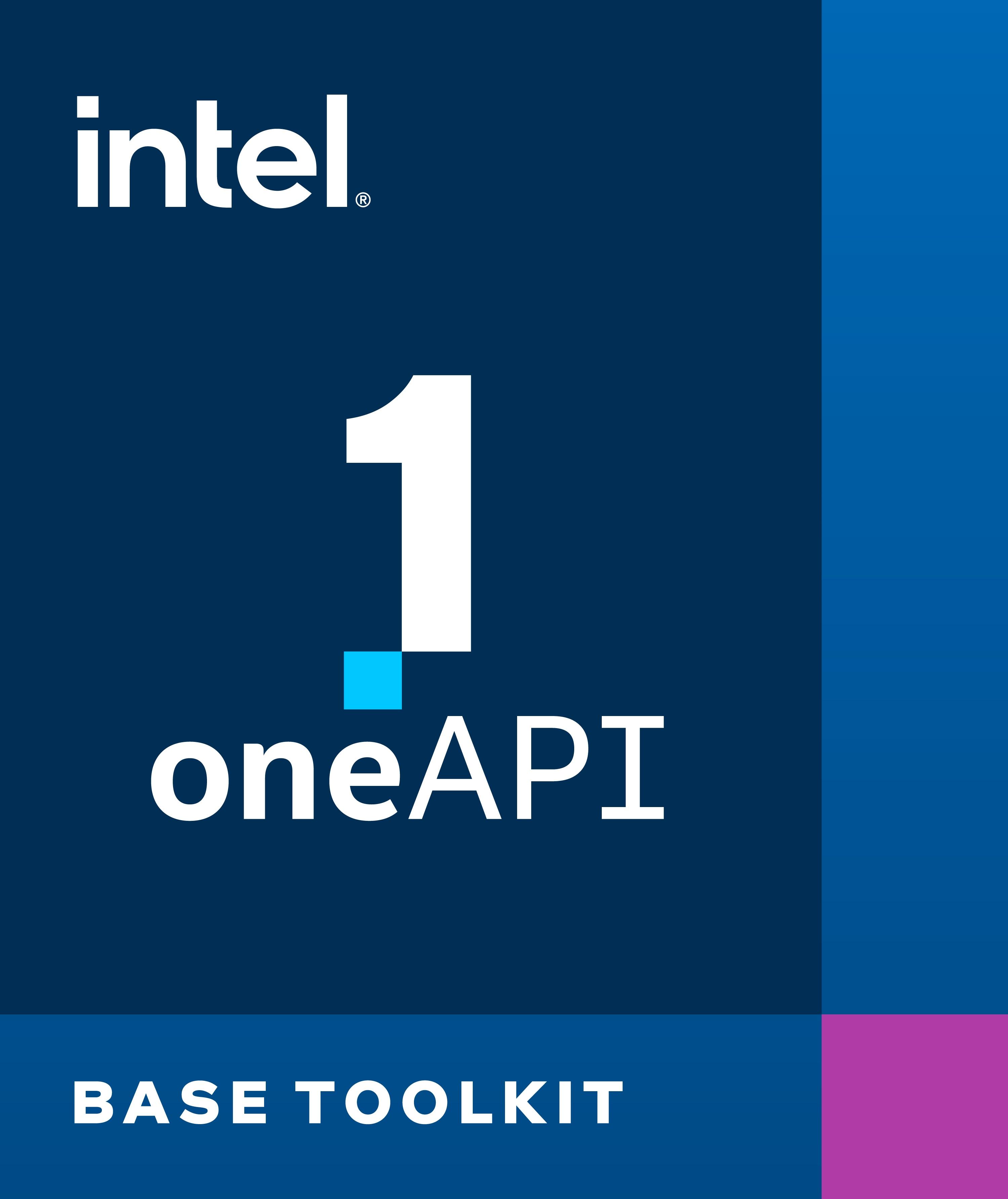 インテル® oneAPI ベース・ツールキット