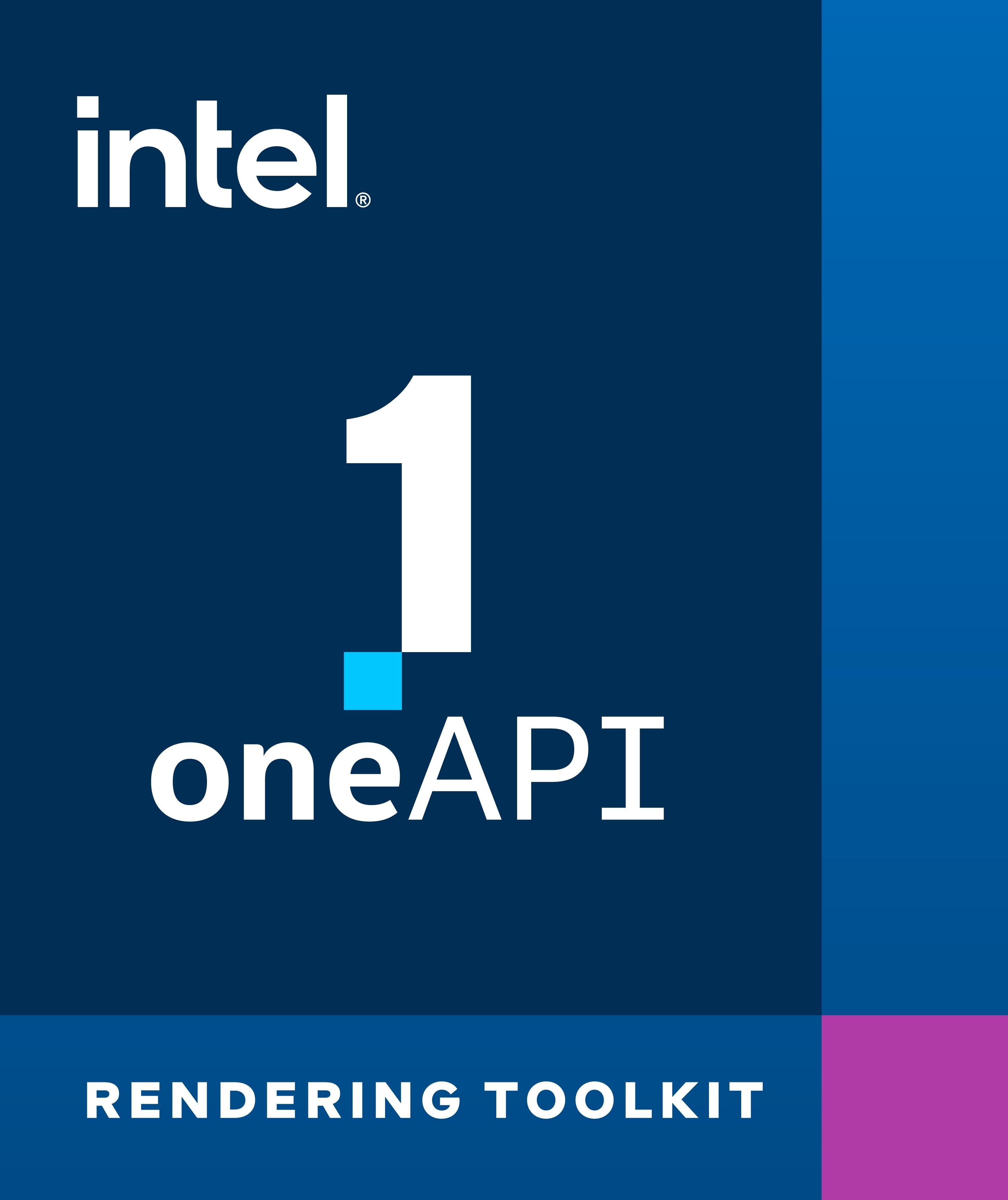 インテル® oneAPI レンダリング・ツールキット