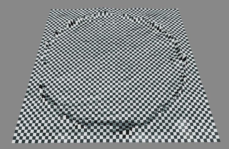 格子縞のタイル分割