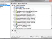 インテル® アーキテクチャー向けに Android* SDK をインストール