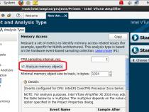 コードで使用したメモリー割り当て/割り当て解除のトレースをサポートしたインテル® VTune™ Amplifier XE 2016 の新しいメモリーアクセス解析